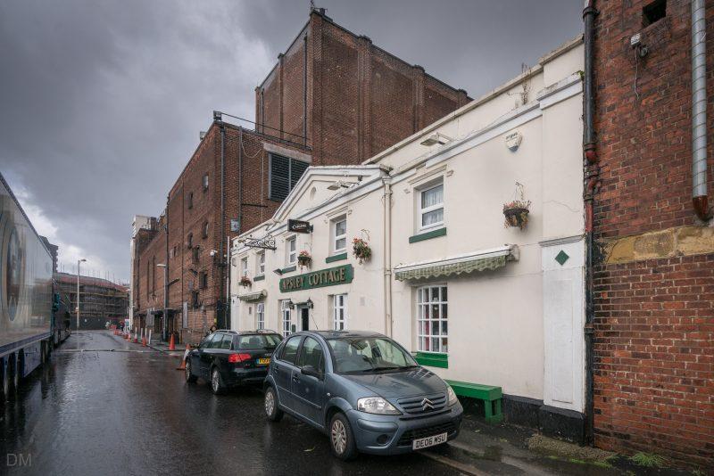 Apsley Cottage pub next to the Apollo Manchester