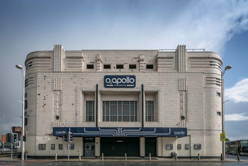 02 Apollo Manchester box office and entrance