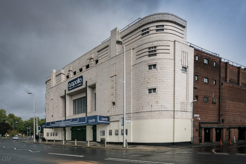 Photograph of the Apollo Manchester in Ardwick