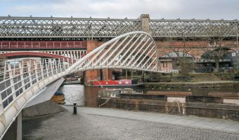 Merchants' Bridge in Manchester.