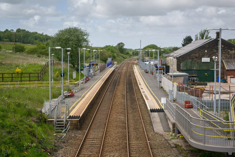Photograph of Blackrod Train Station in Blackrod, Bolton.