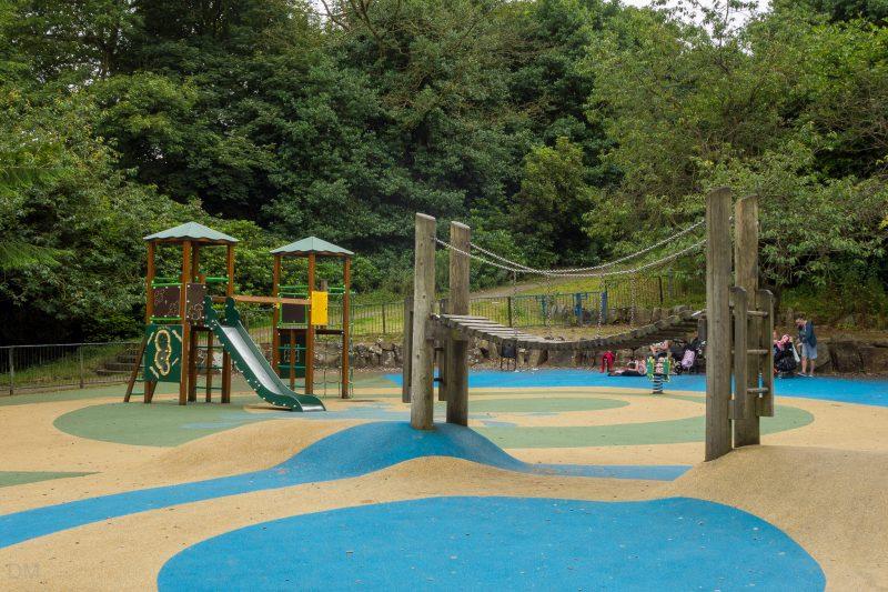 Photograph of the playground at Bold Venture Park in Darwen, Lancashire.