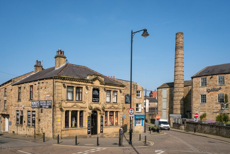 Photo of The Cork House bar on Whittam Street in Burnley, Lancashire.