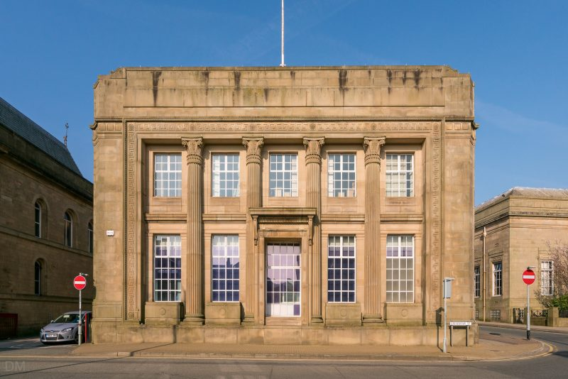 Head office of the former Burnley Building Society. Situated on Grimshaw Street in Burnley Town Centre.