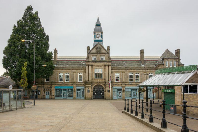 Photograph of Darwen Town Hall, Darwen, Lancashire.