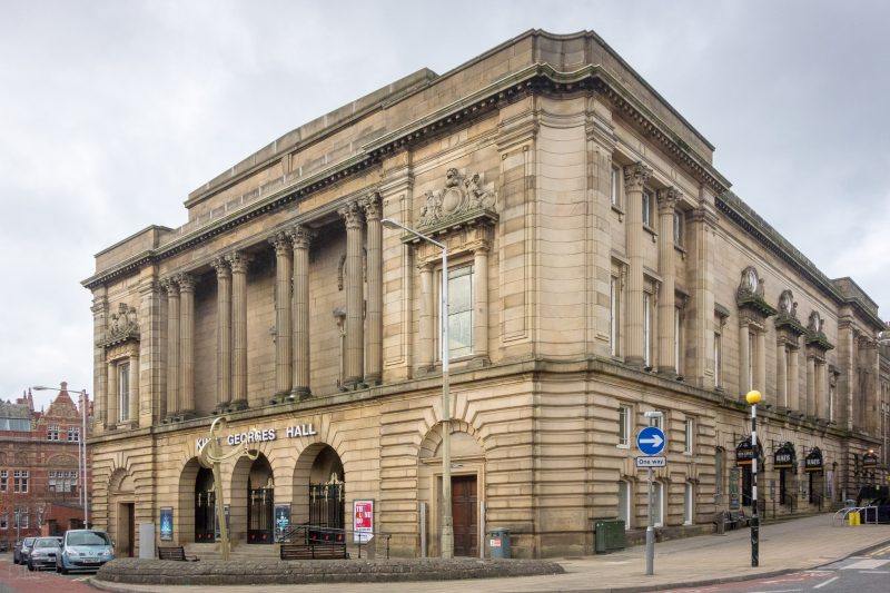Photo of King George's Hall on Northgate in Blackburn.