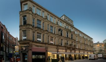Photo of the Ernest Jones jewellery shop on St Ann Street in Manchester city centre.