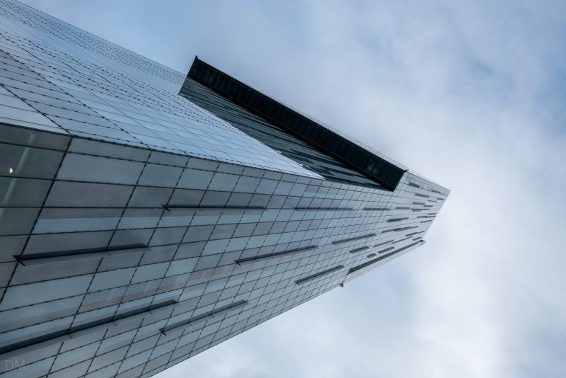 Photograph of the Beetham Tower, Manchester.