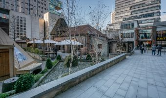 View of The Oast House pub at Spinningfields.
