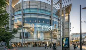 Next clothes shop at the Manchester Arndale shopping centre.