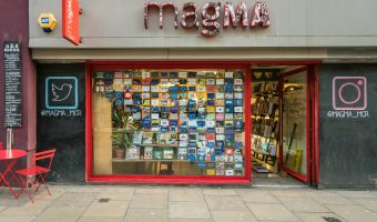 Photograph of the Magma store on Oldham Street in the Northern Quarter, Manchester.