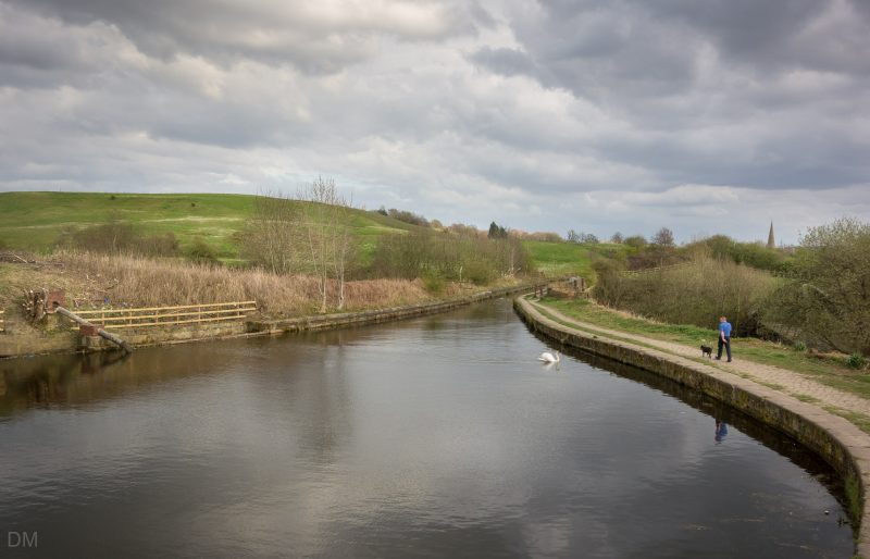 Photo of the Manchester Bolton and Bury Canal at Little Lever, Bolton.