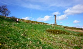 View of the Peel Tower (aka Peel Monument) from Holcombe Hill.