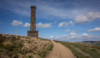 Photo of the Peel Tower on Holcombe Hill, near Ramsbottom.