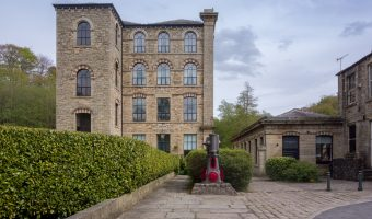 Photograph of The Spinnings apartments at Summerseat, near Ramsbottom.