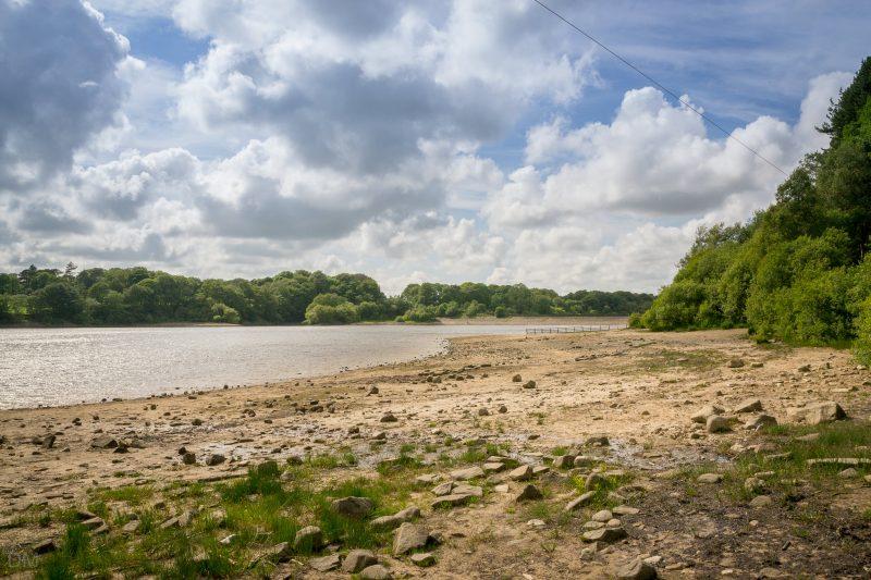 Photograph of Lower Rivington Reservoir in Chorley, Lancashire.