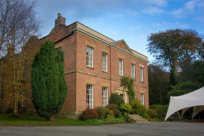 Photograph of Rivington Hall, a Grade II listed building in Rivington, Lancashire.