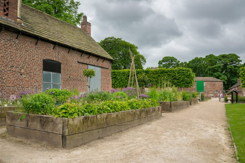 Photograph of the Walled Garden at Astley Park, Chorley, Lancashire.