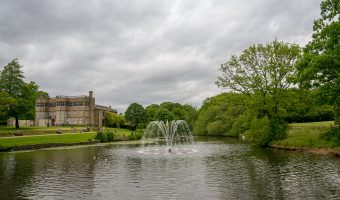 View of Astley Hall at Astley Park, Chorley, Lancashire.