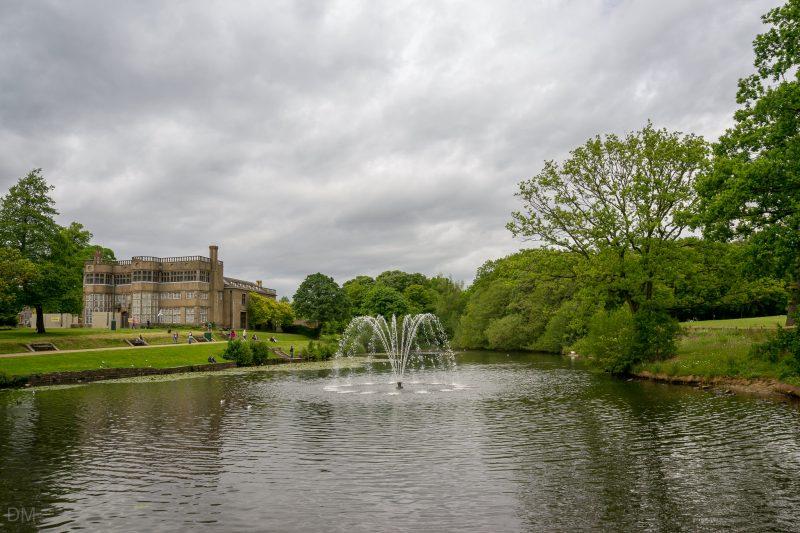 View of Astley Hall at Astley Park, Chorley, Lancashire.