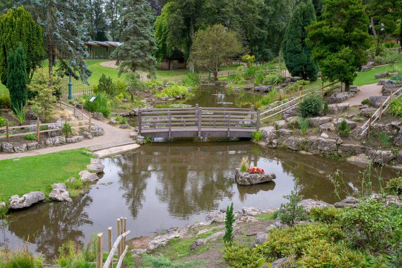 Photo of the Japanese Garden, Avenham Park, Preston.