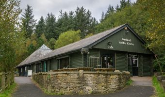 Photo of the Bowland Visitor Centre at Beacon Fell Country Park.