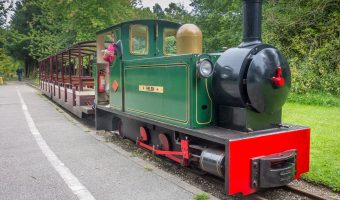 Photo of Haigh Hall Miniature Railway at Haigh Woodland Park in Haigh, Wigan.