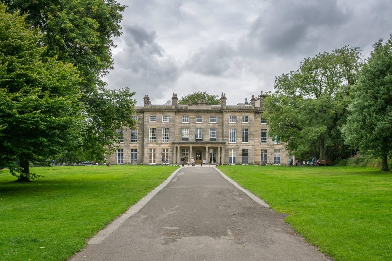 Photograph of Haigh Hall at Haigh Woodland Park in Wigan.