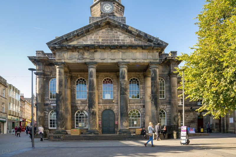 Photo of Lancaster City Museum on Market Square in Lancaster.