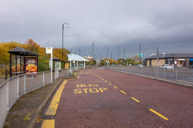 Photo of Morecambe Bus Station on Central Drive in Morecambe town centre.