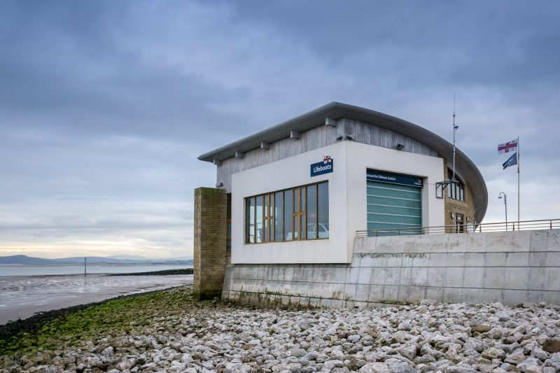 Photograph of Morecambe Lifeboat Station on Marine Road Central, Morecambe.