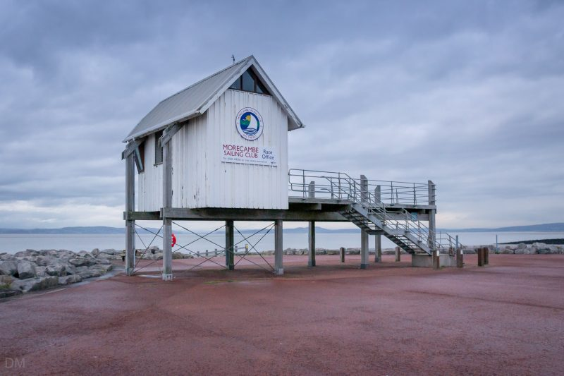 Photograph of Morecambe Sailing Club Race Office on Marine Road East, Morecambe.