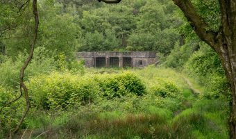 Photo of the summer house at Rivington Terraced Gardens.