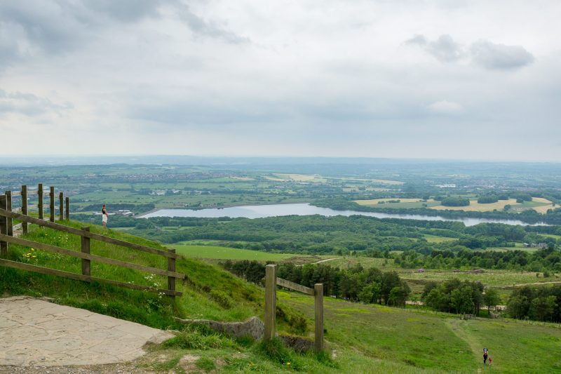 View of Lower Rivington Reservoir from Rivington Pike.