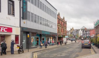 Photograph of Primark on Standishgate in Wigan town centre.