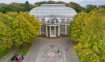 Photograph of the Butterfly House at Williamson Park in Lancaster.