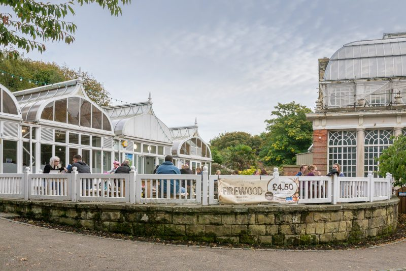 Photograph of the Pavilion Cafe at Williamson Park, Lancaster.