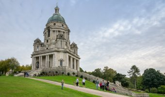 The Ashton Memorial at Williamson Park, Lancaster.