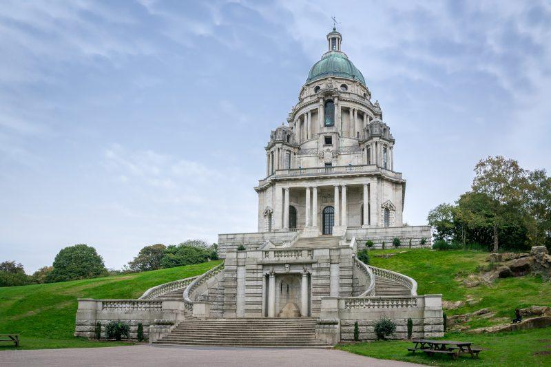 Photo of the magnificent Ashton Memorial. Located at Williamson Park in Lancaster.