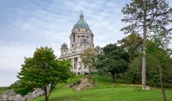 Photograph of the Ashton Memorial at Williamson Park, Lancaster.
