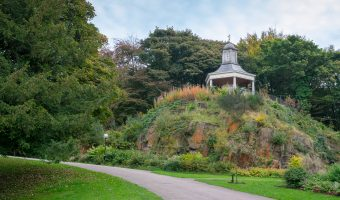 Photo of the Temple Shelter at Williamson Park, Lancaster.