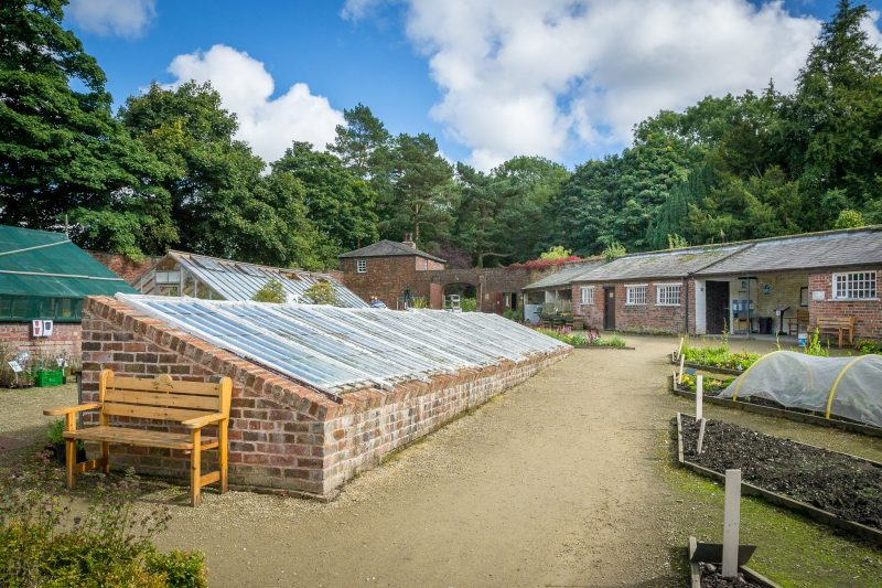 Photograph of the Walled Garden at Worden Park, Leyland, Lancashire.
