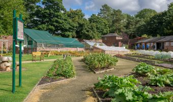 Photo of the Walled Garden at Worden Park in Leyland.