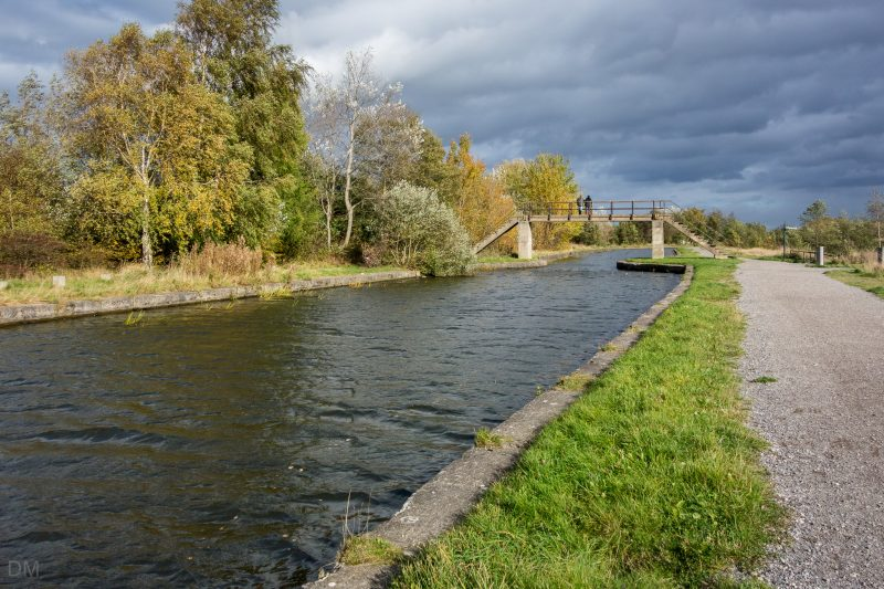 Photograph of the Leeds and Liverpool Canal at Pennington Flash Country Park, Leigh.