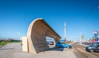 Photo of South Beach Car Park near Blackpool Pleasure Beach