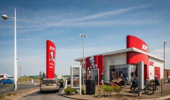 Photograph of KFC, Marine Drive, Southport, Merseyside.