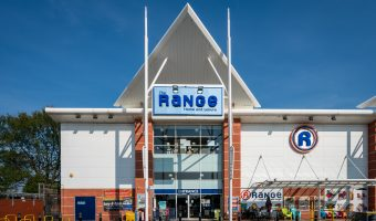 Photograph of The Range store at Central 12 Shopping Park, Southport.