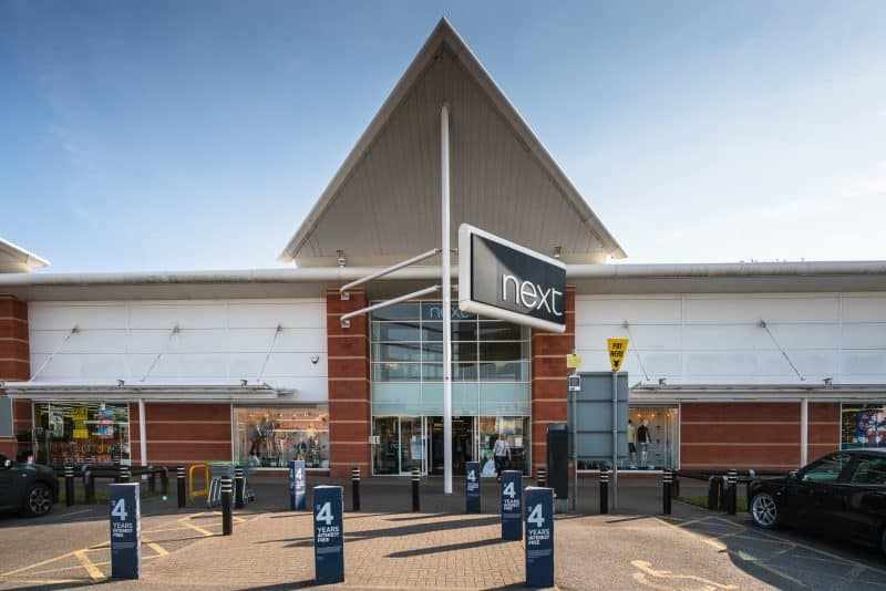 Photo of Next store at Central 12 Shopping Park, Southport.