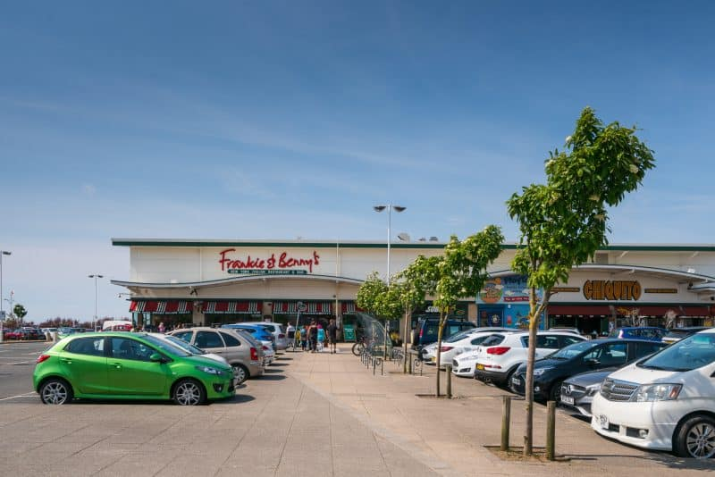 Photo of Frankie & Benny's restaurant at Ocean Plaza, Southport, Merseyside.