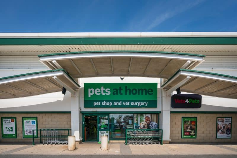 Photo of Pets at Home pet shop and vet surgery at Ocean Plaza, Southport.